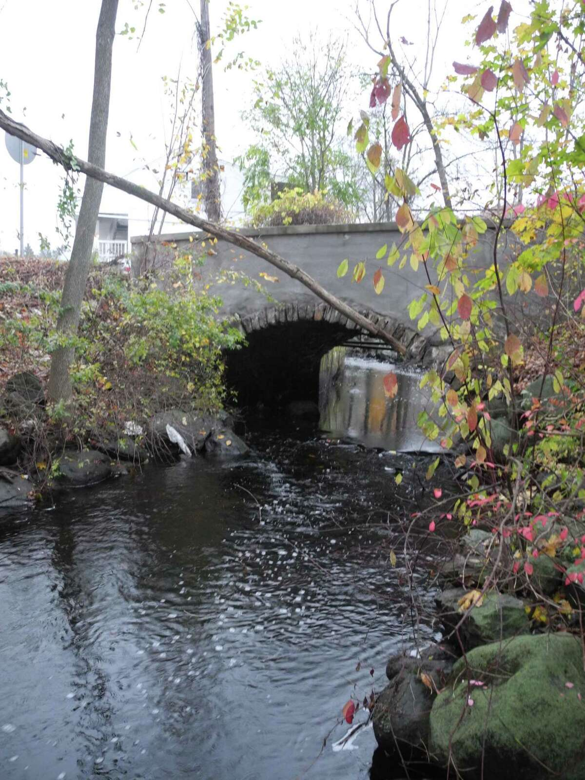 Depot Road bridge, which crosses the Norwalk River providing access to and from the Branchvillle Train Station, is closed permanently.