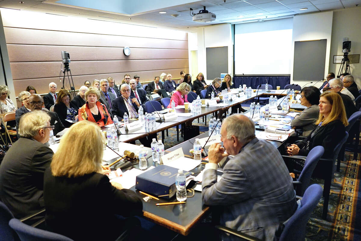 New York State Board of Regents hold a meeting on Monday, Oct. 7, 2019, in Albany, N.Y. (Paul Buckowski/Times Union)