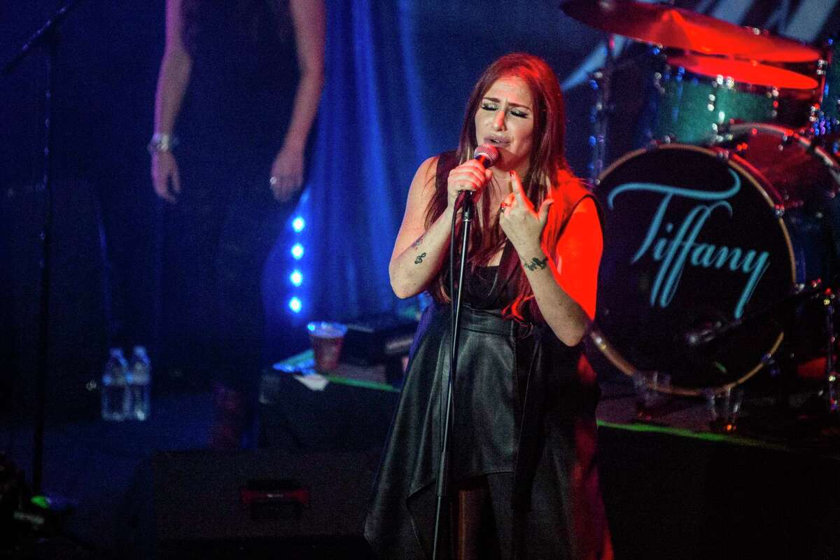 Tiffany, performing recently in West Hollywood, Calif., is making two Connecticut stops.