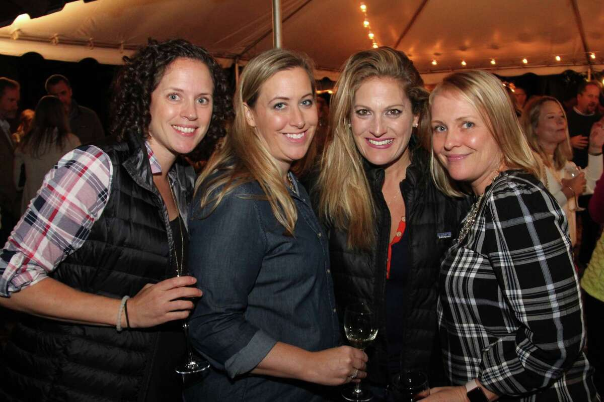 From left, Robyn Libertiny, Bonnie Spetsaris, Heather McGuinness and Kelly Melchionno at Woodock's Under the Harvest Moon gala.