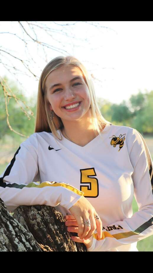 East Central volleyball player Maddie Strzelczyk. Photo: Courtesy Photo