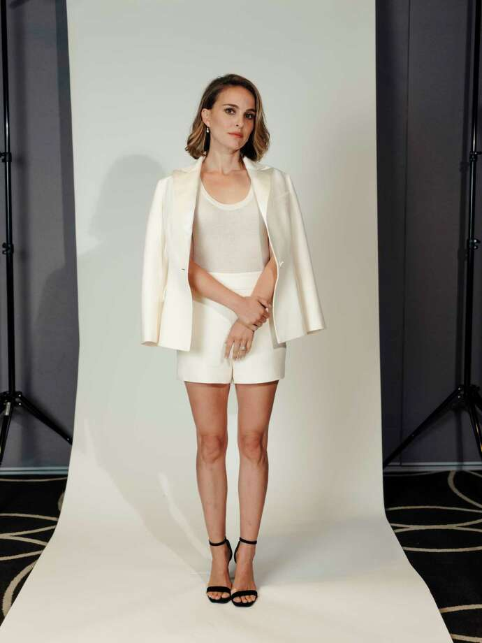 -- PHOTO MOVED IN ADVANCE AND NOT FOR USE - ONLINE OR IN PRINT - BEFORE OCT. 06, 2019. -- Natalie Portman at the W Hollywood in Los Angeles, Calif., Sept. 25, 2019. The actor has finally fulfilled a childhood dream, sort of, by climbing into a spacesuit to play a tormented astronaut in the new film a€œLucy in the Sky.a€ And soon shea€™ll wield the hammer as female Thor. (Rozette Rago/The New York Times) Photo: ROZETTE RAGO / NYTNS