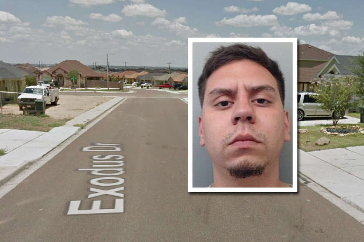 A man has been arrested for stabbing the boyfriend of his ex-girlfriend, according to Laredo police.
