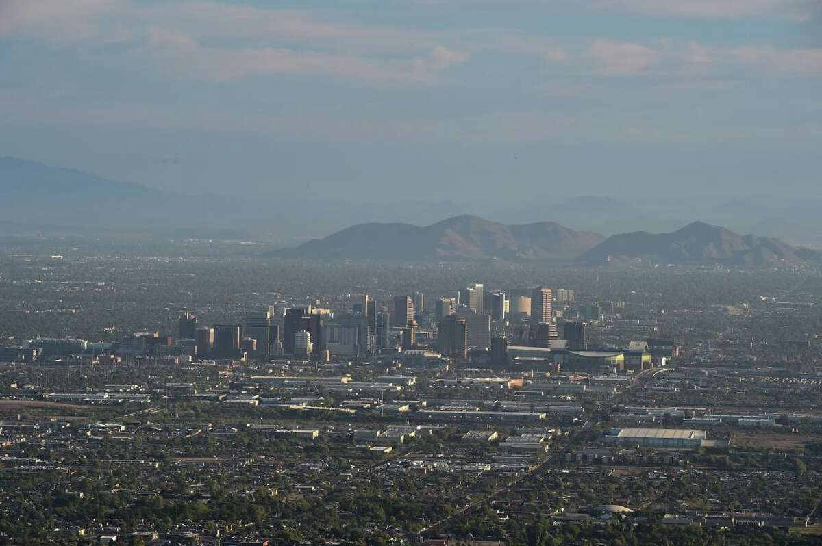 Phoenix, Arizona - $354 This takes you: From Seattle to Phoenix with a layover in San Francisco on United Airlines. From Phoenix to Seattle on Spirit Airlines.