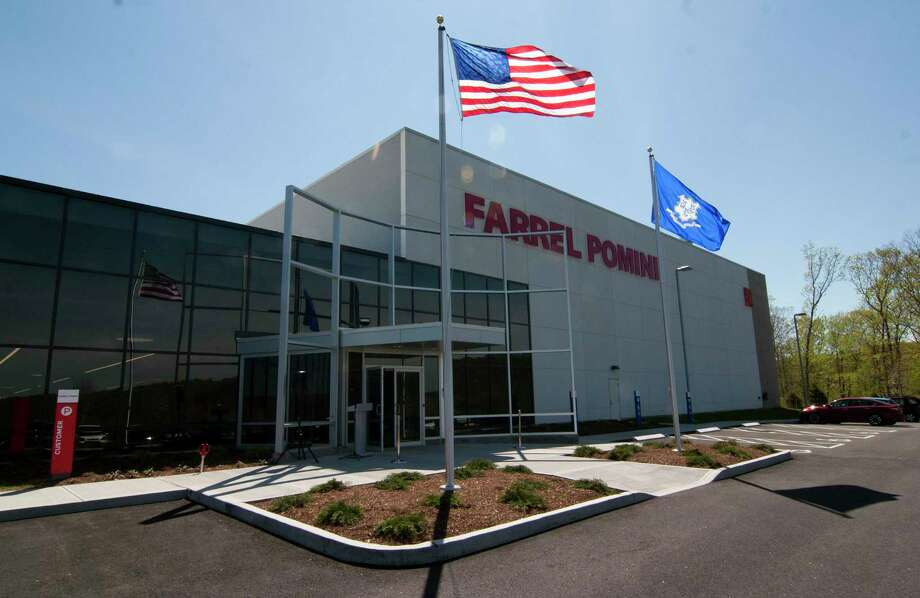 Farrel Pomini Corp. held a ribbon cutting and open house at its new headquarters at the recently created Fountain Lake Industrial Park on Birmingham Boulevard in Ansonia, Conn., on Thursday May 4, 2017. Photo: Christian Abraham / Hearst Connecticut Media / Connecticut Post