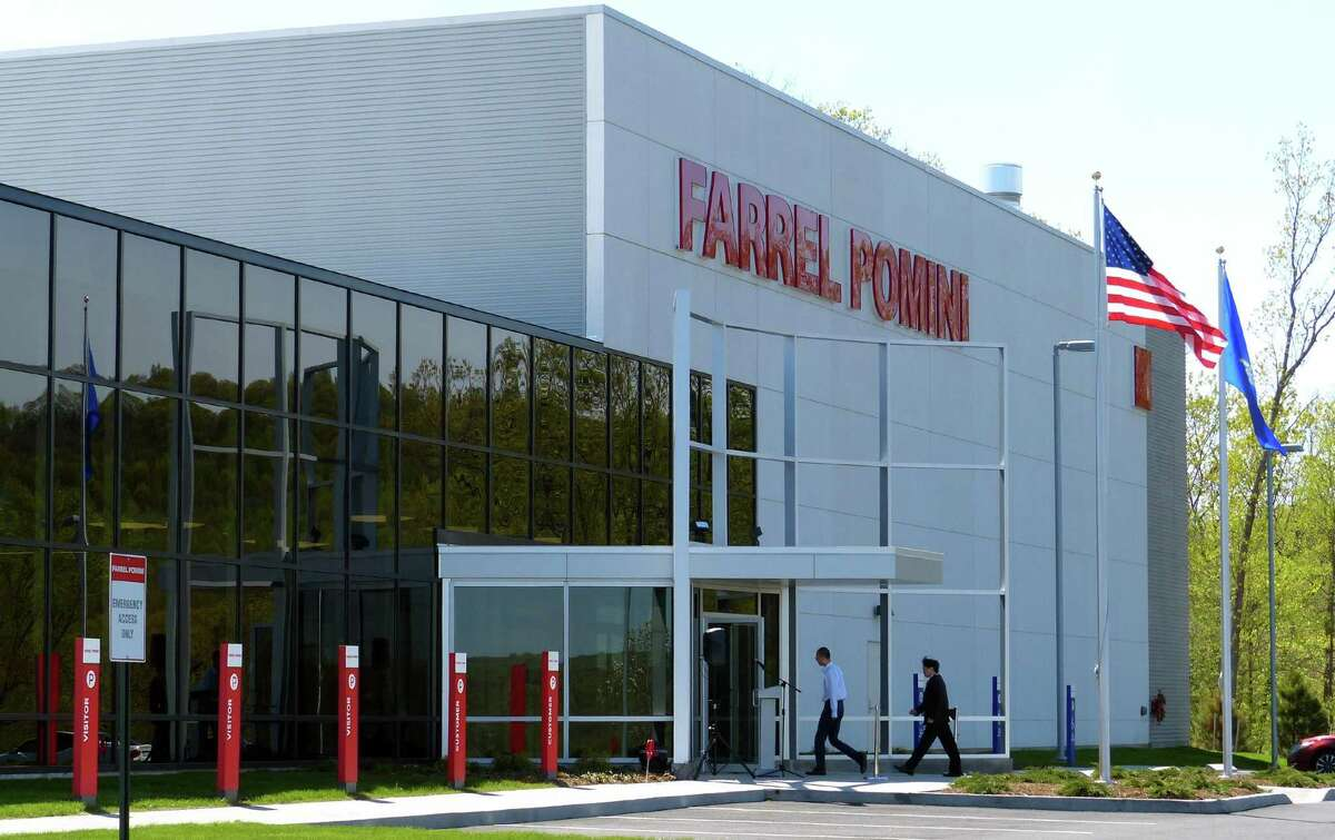 Farrel Pomini Corp. held a ribbon cutting and open house at its new headquarters at the recently created Fountain Lake Industrial Park on Birmingham Boulevard in Ansonia, Conn., on Thursday May 4, 2017.