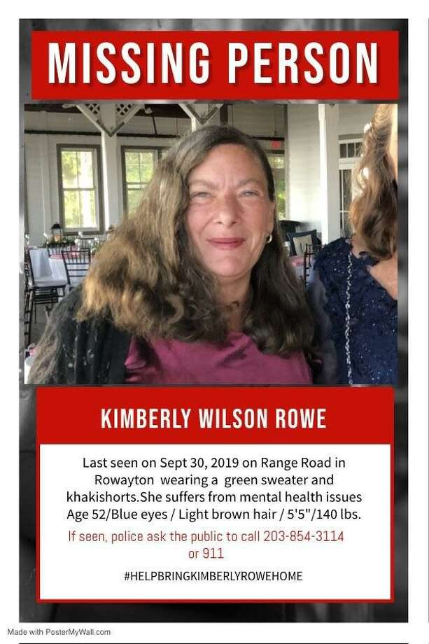 Rowayton resident Kimberly Rowe has been found after missing for a week. Photo: Contributed Photo