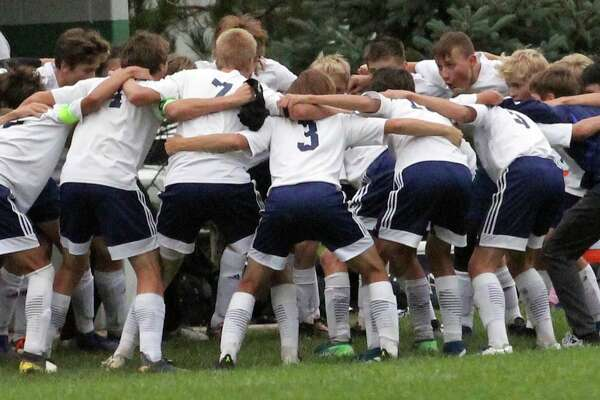 The Bad Axe boys soccer team advanced in regional play on Tuesday after blanking Memphis, 6-0.