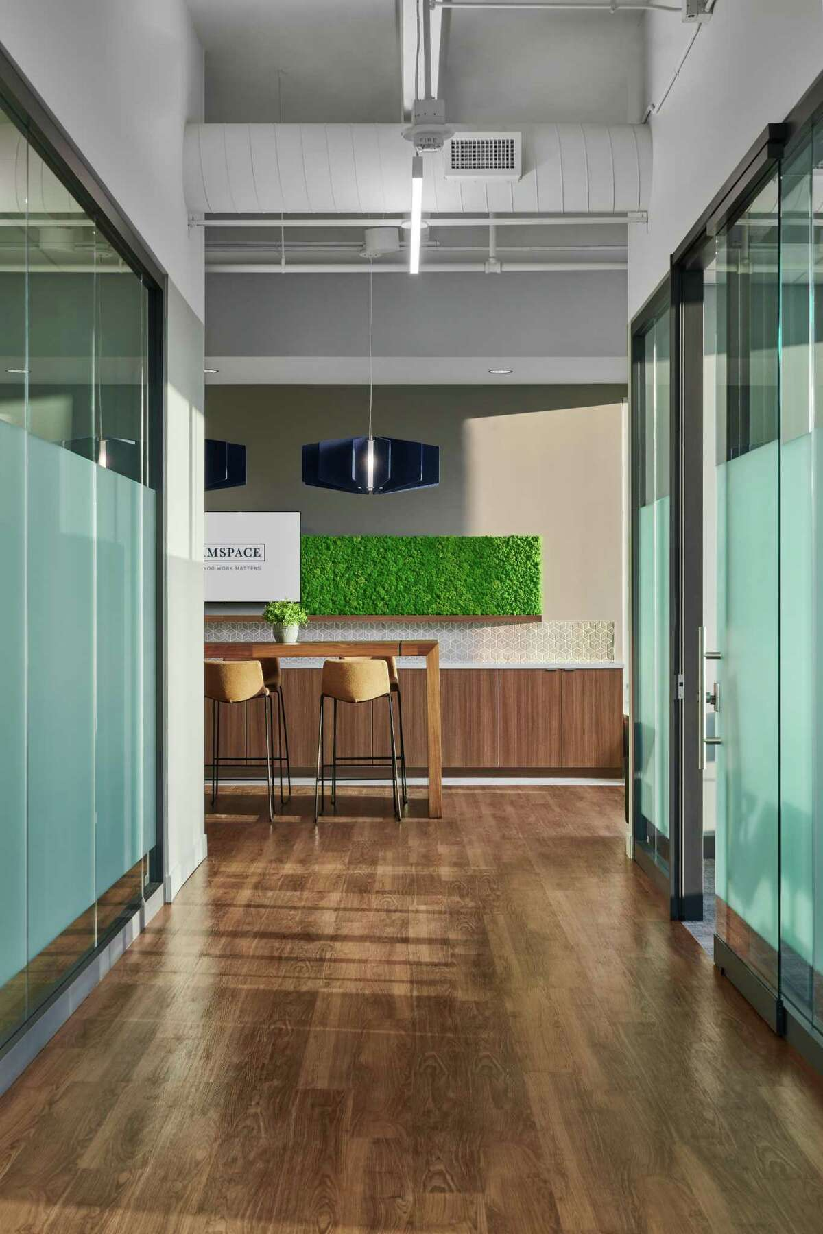 Firmspace opened on the 10th and 11th floors of the BBVA building at 2200 Post Oak Blvd. in early 2019.