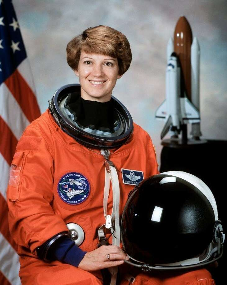 "Eileen M. Collins, the National Aeronautics and Space Administration's first female shuttle commander, has been named the grand marshal for the 2020 Battle of Flowers Parade. The theme for the caravan of flower-festooned floats she will preside over is ""¡Viva Las Flores!,"" according to a news release from the Battle of Flowers Association. Photo: Courtesy,  Battle Of Flowers Association"