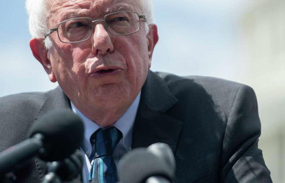 U.S. Sen. Bernie Sanders Photo: Saul Loeb / AFP Via Getty Images / AFP or licensors