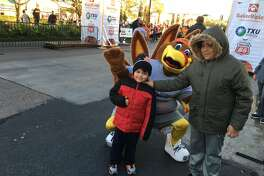 A large turkey mascot will be on hand to cheer on runners and walkers at the BakerRipley Houston Turkey Trot on Thanksgiving morning on Thursday, Nov. 28, in the Uptown Galleria area.