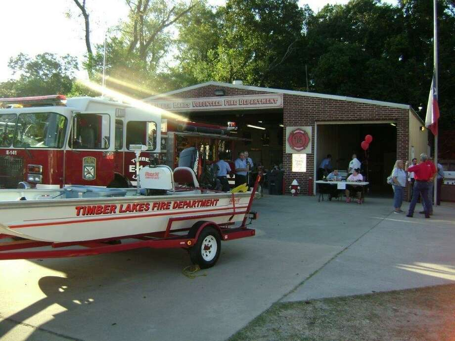 The Timber Lakes Volunteer Fire Department is celebrating 50 years of service to the residents living in Timber Lakes/Timber Ridge subdivision and surrounding area in South Montgomery County with an Open House on Saturday, Oct. 12, from 4-6 pm. Photo: Courtesy Photo