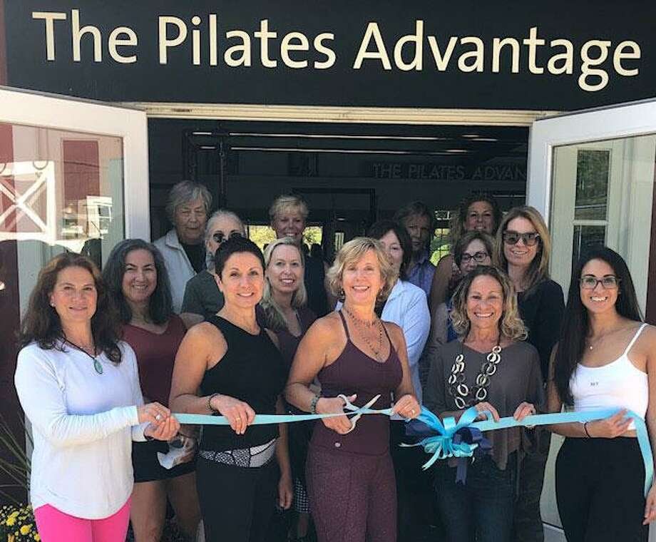 Ribbon cutting at The Pilates Advantage in Wilton. Photo: Contributed Photo / Wilton Bulletin Contributed