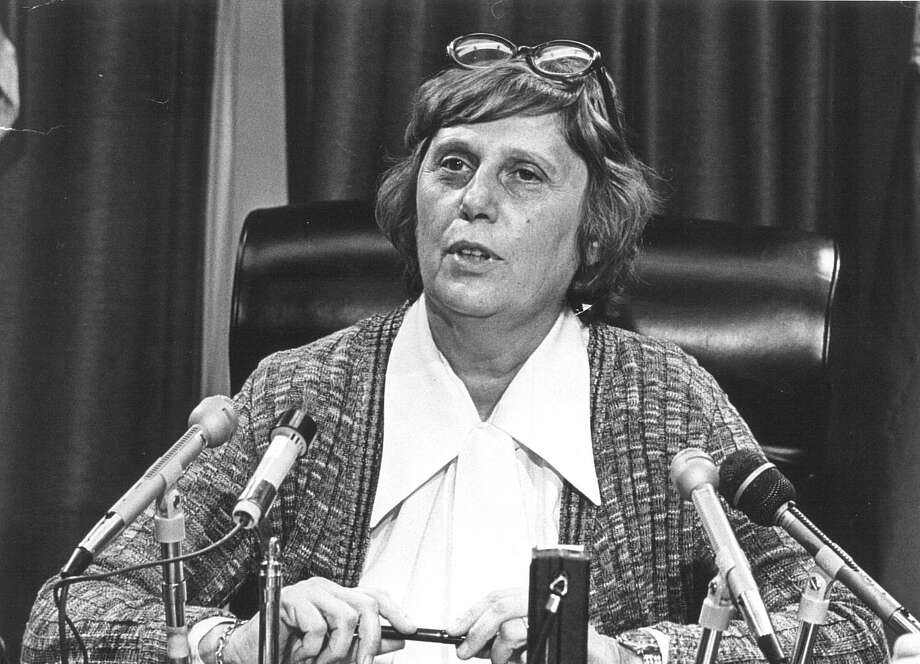 PRINT ARCHIVE: Connecticut Governor Ella Grasso Oct. 15, 1975. Grasso served as Governor from 1975 to 1980. Photo: File Photo / File Photo / Connecticut Post file photo
