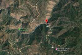 A wildfire dubbed the Briceburg Fire is burning along Highway 140 near the Mariposa County town of Briceburg.