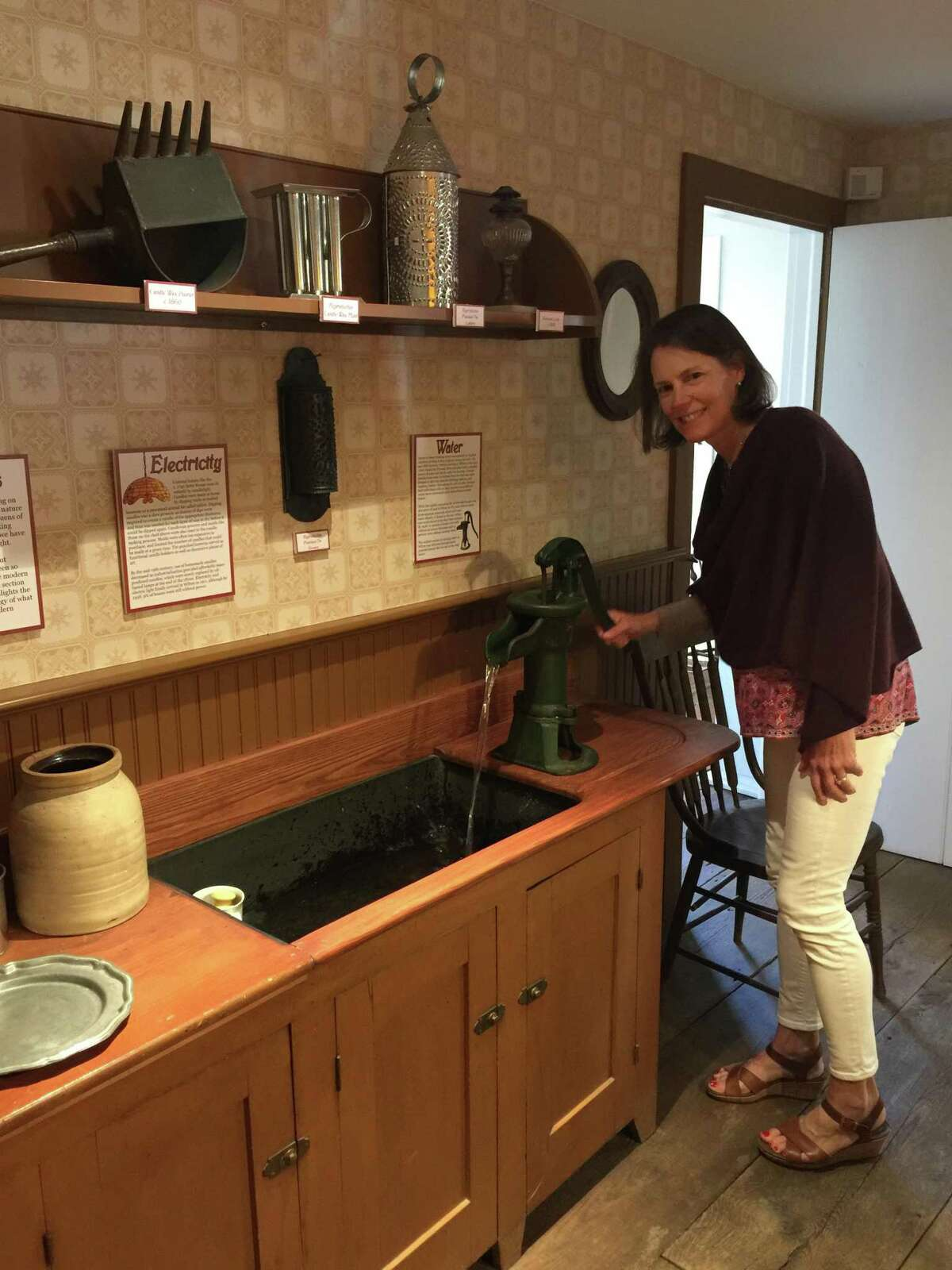 Just Like Grandma Used to Make: A Hands-on Experience of 300 Years of Kitchen History is the new permanent exhibit at the Wilton Historical Society, 224 Danbury Road, Wilton. For more information, visit wiltonhistorical.org.