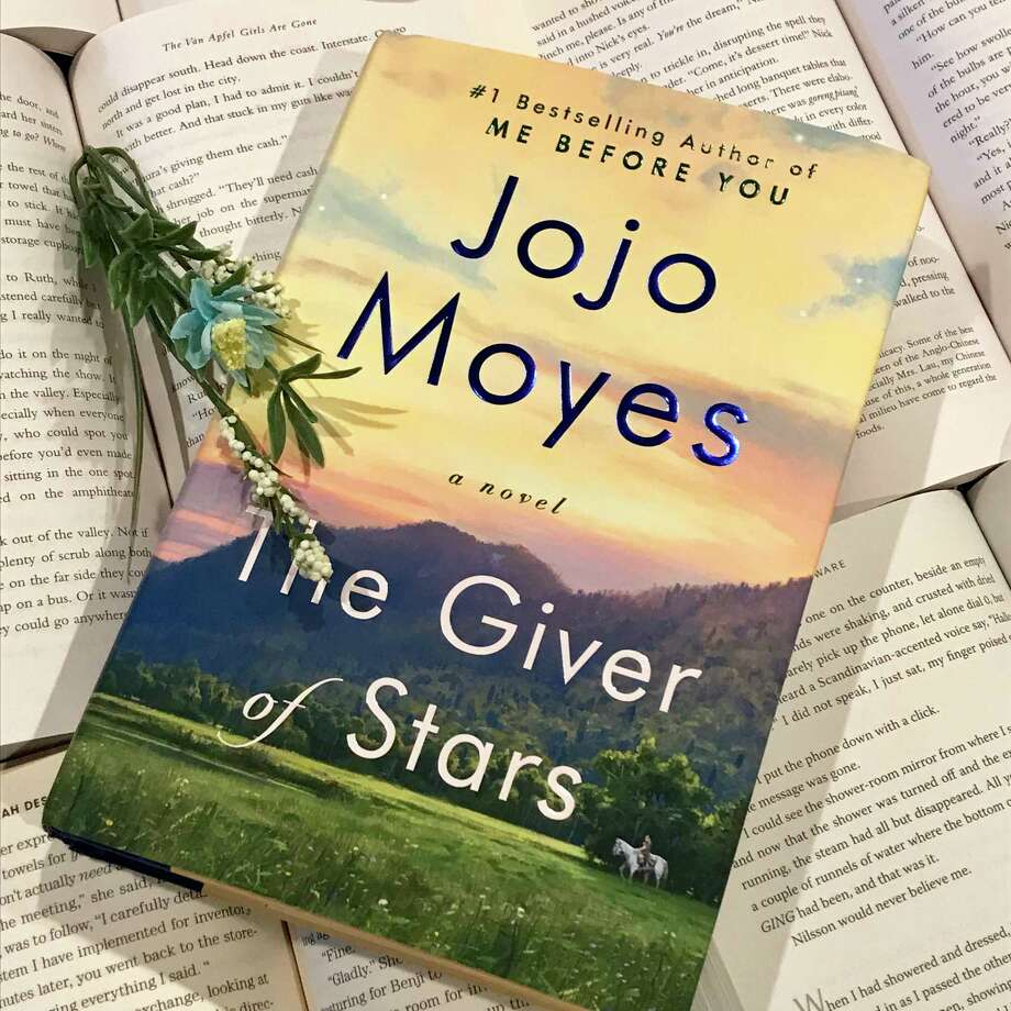 """The Giver of Stars"" by Jojo Moyes was published on Oct. 8. Photo: TinaMarie Craven / Hearst Connecticut Media"