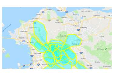 Map Shows Neighborhoods Impacted By Pg E Power Shutoffs Sfgate