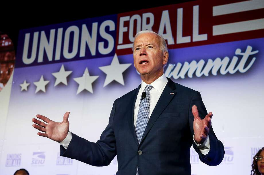 Joe Biden wants to make community college free and federal college loan programs more generous. Photo: Ringo H.W. Chiu / Associated Press
