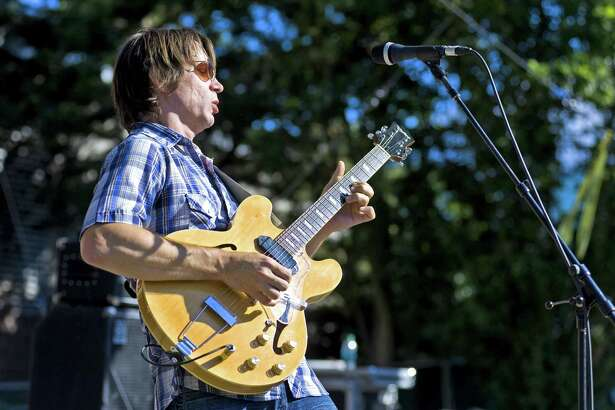 Ian Moore performs at Discovery Green on Friday.
