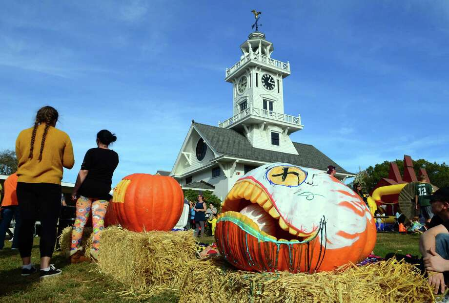 The Boothe Park Commission and the Town of Stratford will host the annual Great Pumpkin Festival at Boothe Memorial Park on Saturday. Find out more. Photo: Christian Abraham / Hearst Connecticut Media / Connecticut Post