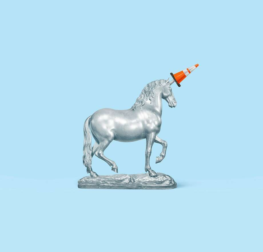 A number of high-profile unicorns — startup worth at least $1 billion — have stumbled as they go public. Photo: Doug Chayka / New York Times