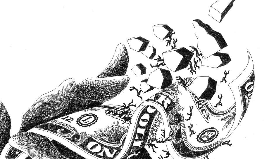 Illustration for pensions op-ed. Photo: Nancy Ohanian