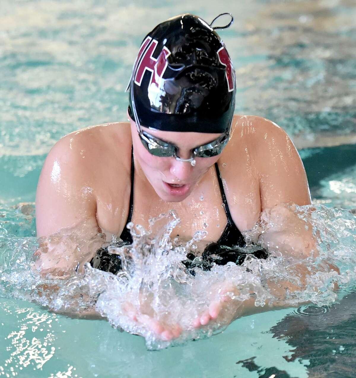 North Haven swimmer Angela Gambardella.