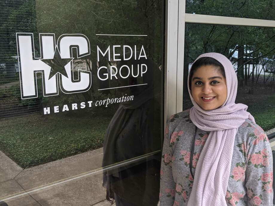Laraib Hashmi has joined the staff of The Woodlands Villager. Her focus will be on business and health care related issues. Photo: Jamie Swinnerton