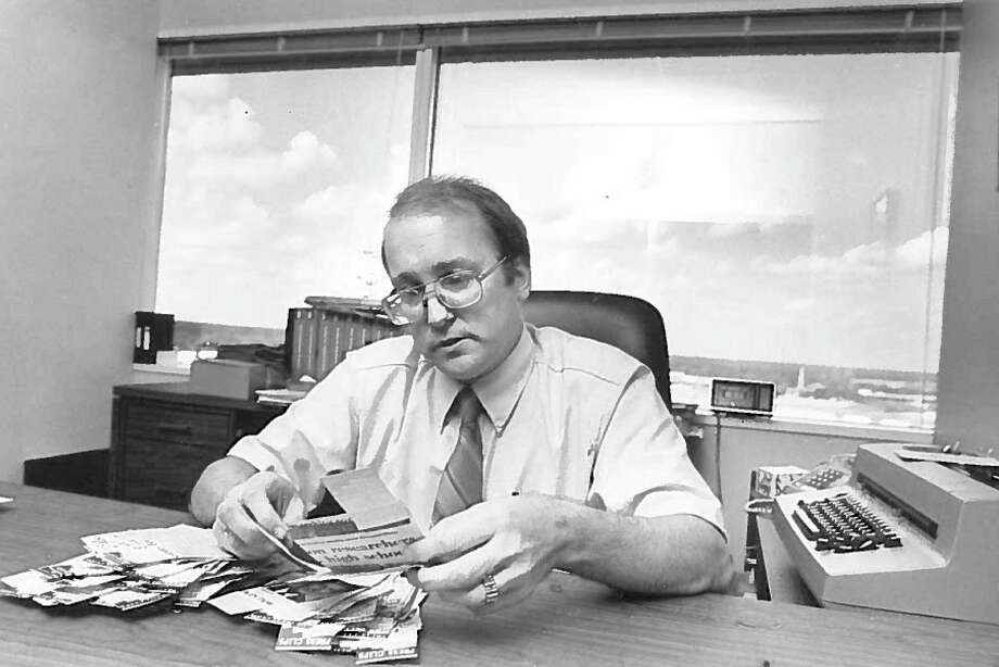 Former newspaperman, communications manager and Entergy Texas employee Kim McMurray Photo: Enterprise Archives
