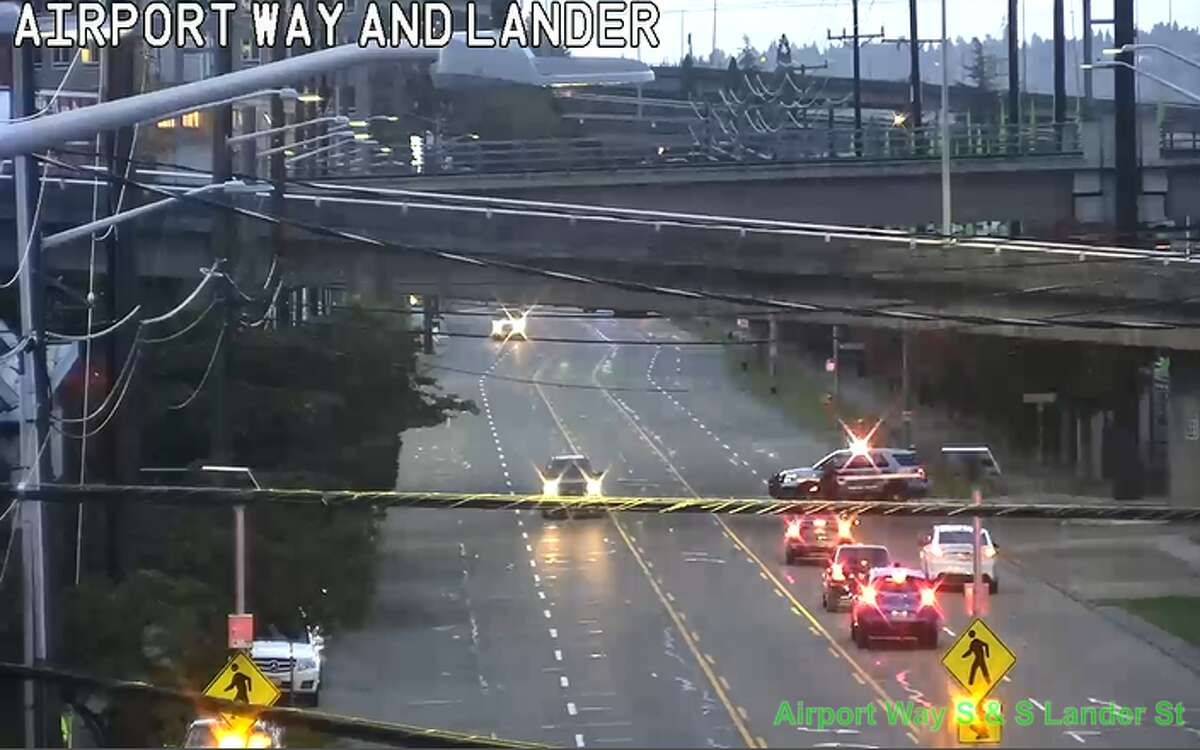Scene of a fatal head-on collision in the Sodo district on Oct. 8, 2019.