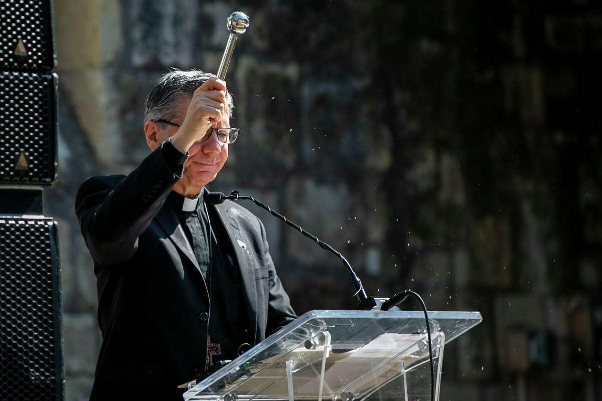 The Archbishop of San Antonio offers his prayers for President Joe Biden on Inauguration Day.
