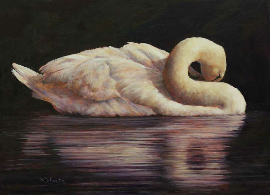 "The annual art show, A Fall Gathering of Artists, returns to Litchfield Oct. 11-14 at the Litchfield Firehouse. Pictured is ""Swan Lake"" by Mally DeSomma. Photo: Contributed Photo /"