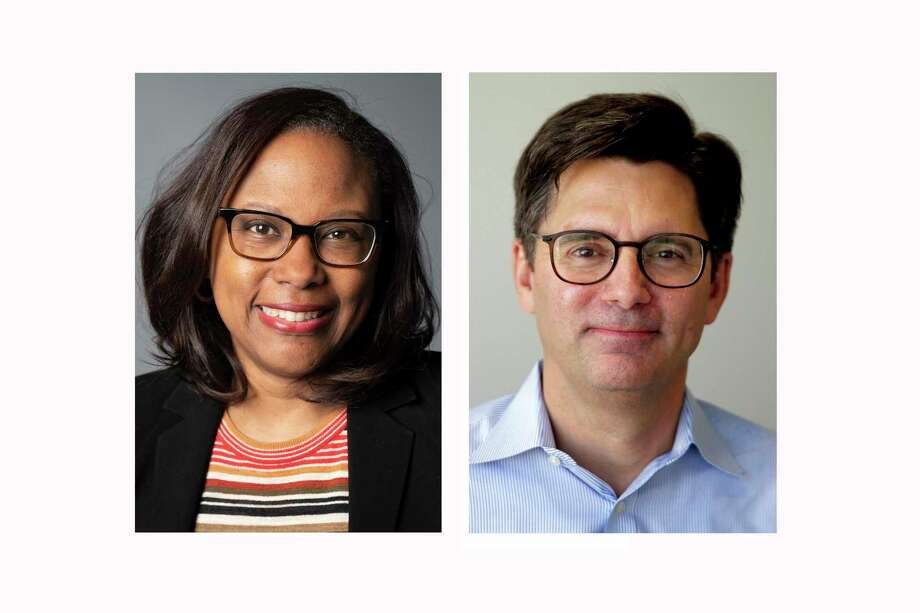 Maria Douglas Reeve, left, will become The Houston Chronicle's managing editor for content on Nov. 12. Mark Lorando, right, will become managing editor for audience on Oct. 29. Photo: Courtesy / Star-Tribune / NOLA.com