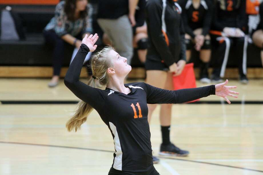 Harbor Beach swept Ubly on the road on Thursday night to remain undefeated in league play. Photo: Eric Rutter / Huron Daily Tribune