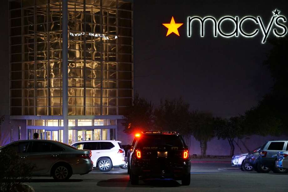 One person was shot outside the North Star Mall Tuesday, Oct. 8, 2019. Photo: Jacob Beltran