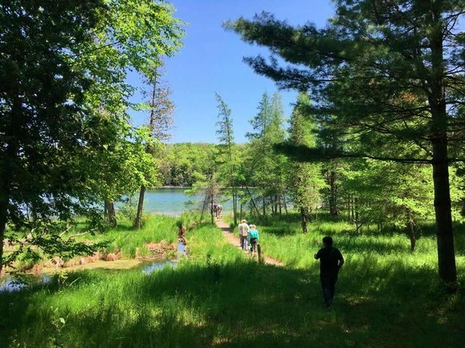 Before the Lower Woodcock Lake is opened to the public, the Grand Traverse Regional Land Conservancy will have to come up with a stewardship plan. (Courtesy Photo)