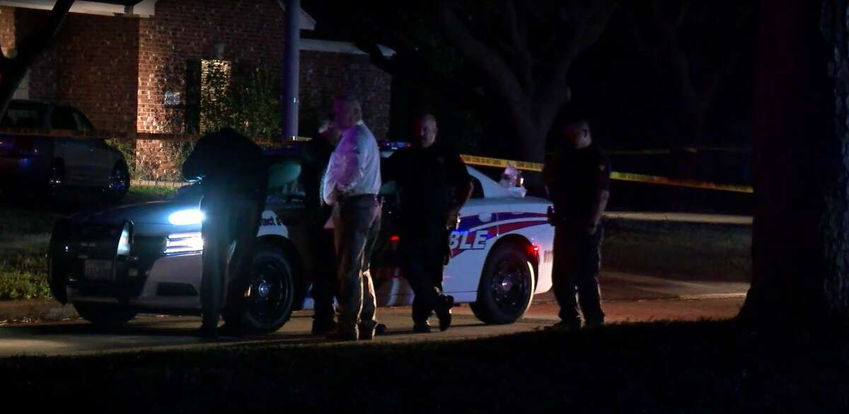 A 65-year-old Atascocita man is dead and his girlfriend is in custody after investigators said she shot him to death inside his own home.