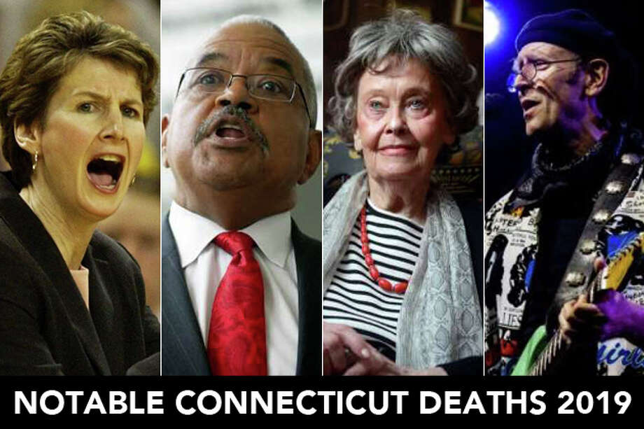 Continue ahead for a look at some of the people we lost in Connecticut in 2019. Photo: Contributed
