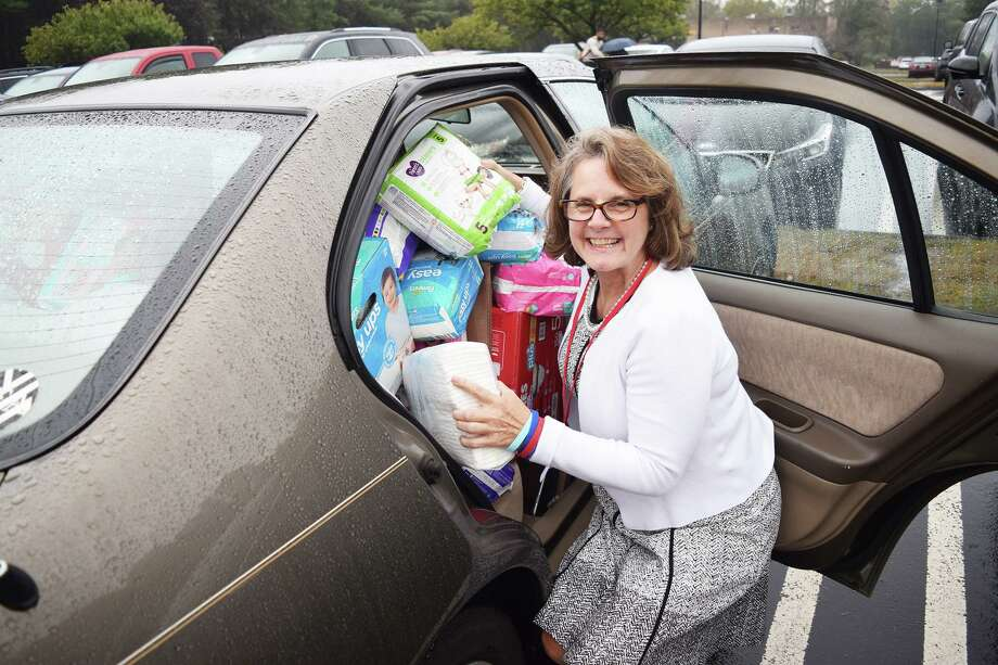 State Representative Kathy Kennedy helped to spearhead Milford's diaper drive. Photo: Contributed Photo.
