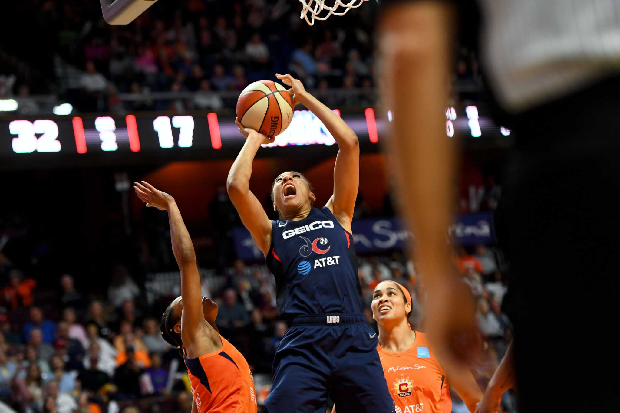 In Game 4, the Mystics came all the way back - and nearly won - thanks to their bench