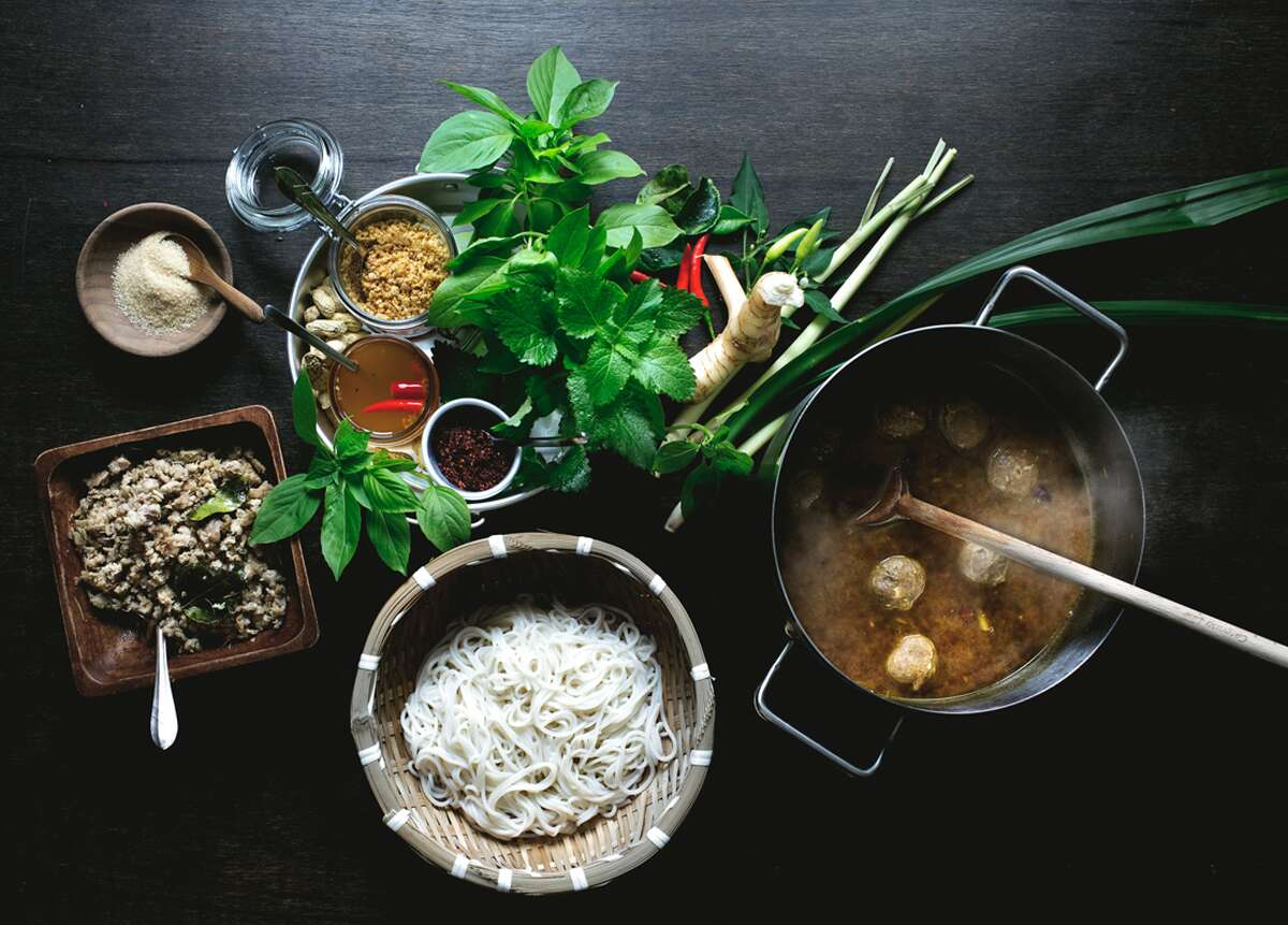 """Kin Dee, which translates in Thai to """"a family blessing,"""" or """"to eat well,"""" will feature a full bar with seating for 77 people and will serve authentic, exotic Thai dishes all made from scratch."""