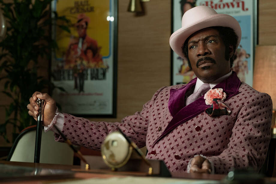 """Eddie Murphy as Rudy Ray Moore in """"Dolemite Is My Name."""" Photo: Francois Duhamel/Netflix / Netflix"""