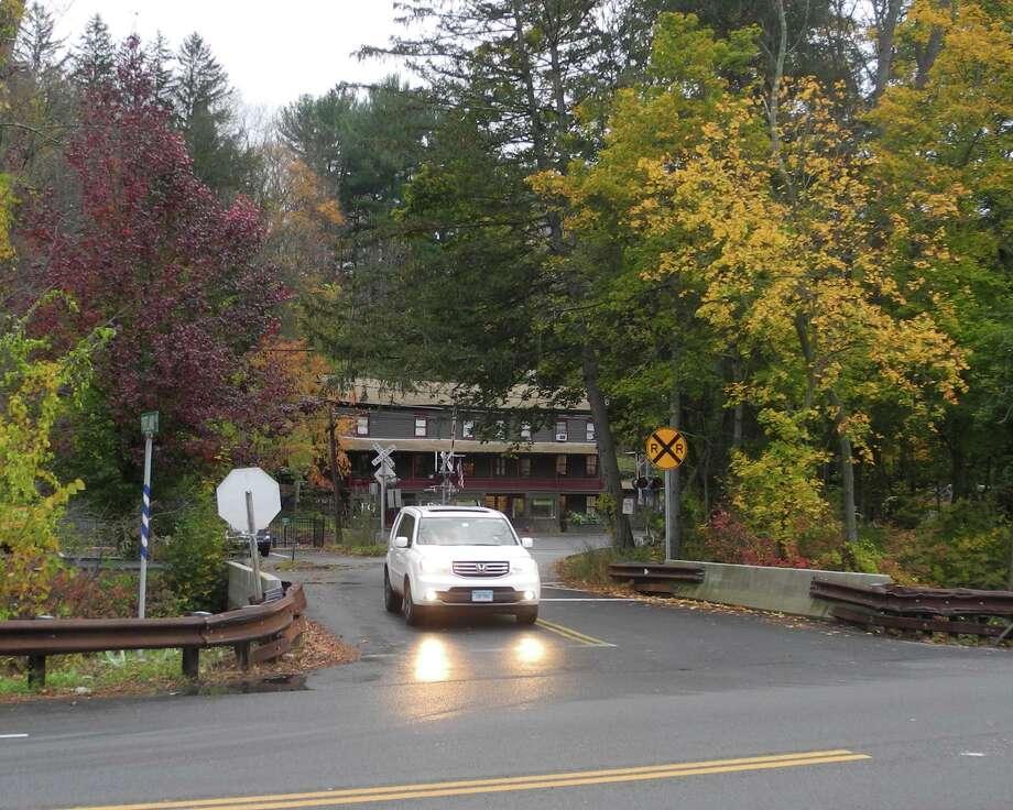 The Portland Avenue bridge in Branchville. Photo: Macklin Reid / Hearst Connecticut Media