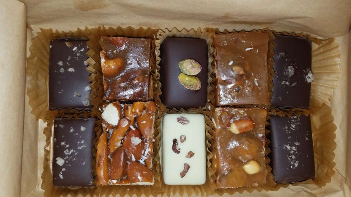 A variety of handmade caramels atHooker's Sweet Treats in San Francisco. The caramel shop announced its plans to close by the end of the year.