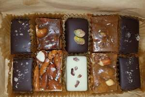 A variety of handmade caramels at Hookers Sweet Treats in San Francisco. The caramel shop announced its plans to close by the end of the year.