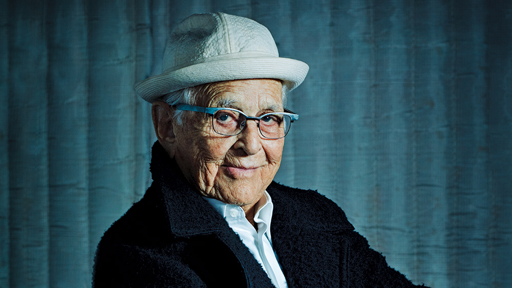 Watch Norman Lear's 99th Birthday Surprise Video From Woody Harrelson and Justin Theroux