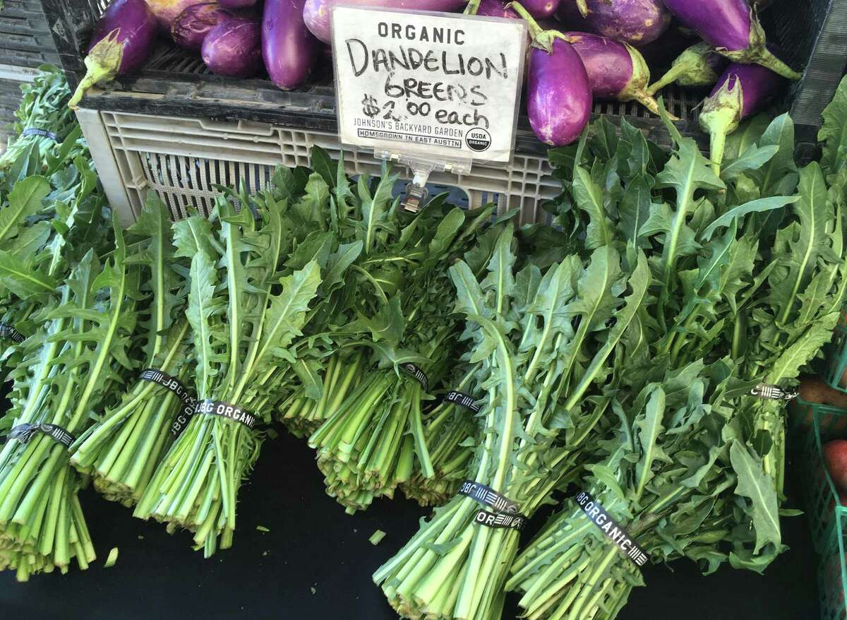 Dandelion greens are one of many varieties of greens still available.