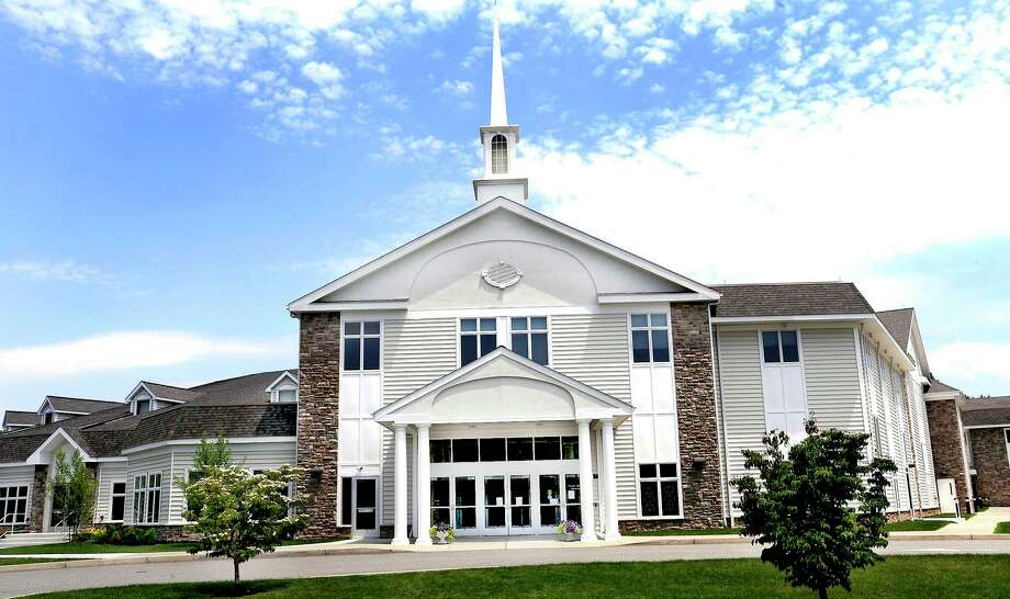 Walnut Hill Community Church in Bethel. Photo: Michael Duffy / ST